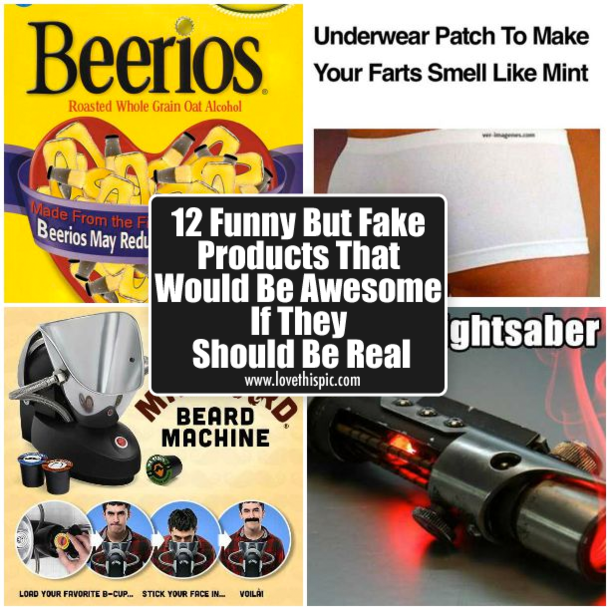 12 Funny But Fake Products That Would Be Awesome If They