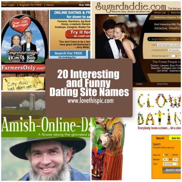 Namen von online-dating-sites