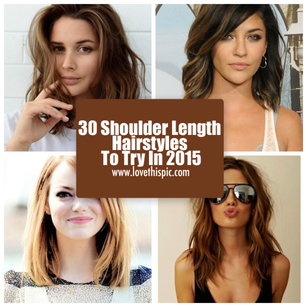 30 Shoulder Length Hairstyles To Try In 2015