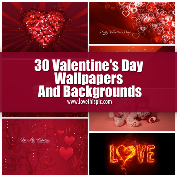 Valentines Day Wallpaper: 30 Valentine's Day Wallpapers And Backgrounds