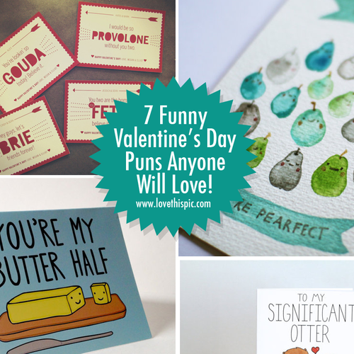 7 Funny Valentines Day Puns