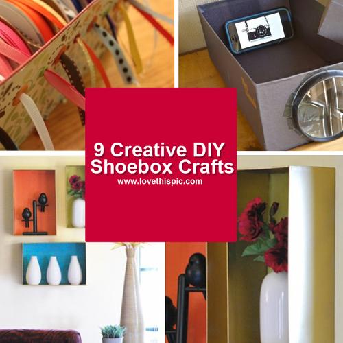 9 Creative DIY Shoebox Crafts
