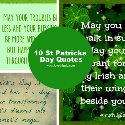 St Patricks Day Quotes Gorgeous 48 St Patricks Day Quotes