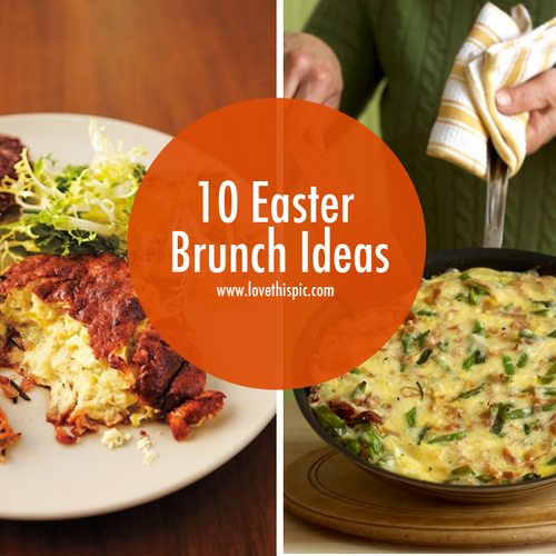 10 easter brunch ideas Fun easter brunch ideas