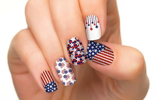 Fun and easy 4th of july nail designs prinsesfo Images