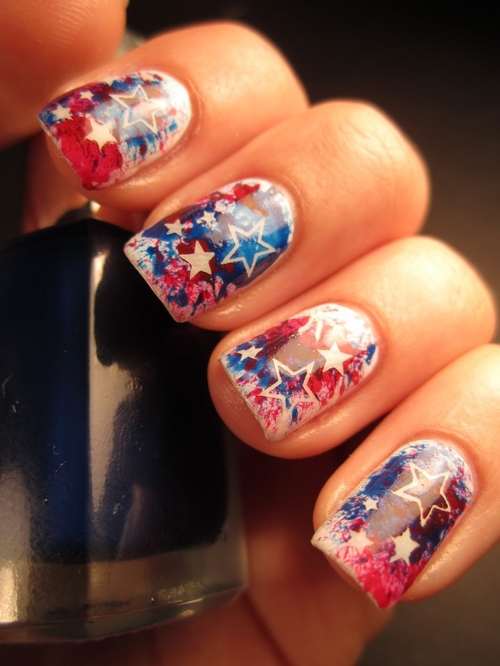 Fun and easy 4th of july nail designs prinsesfo Gallery