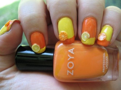 Summer fruit nail art designs prinsesfo Image collections