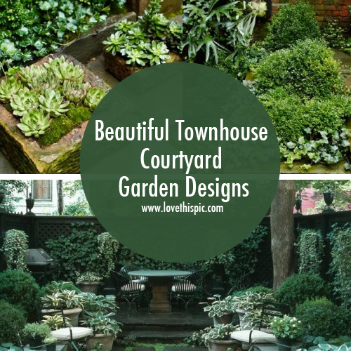 Townhouse front garden ideas photograph townhouse gardens for Townhouse front garden ideas