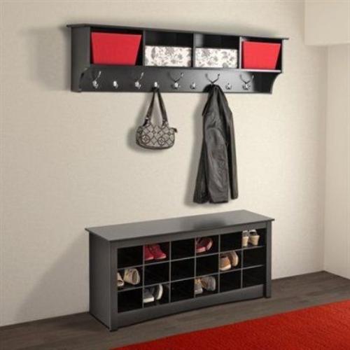 Foyer Storage Quotes : Clever hallway storage ideas part