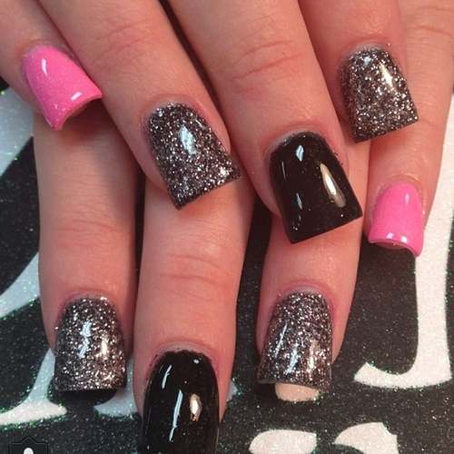 - Girly DIY Acrylic Nail Designs