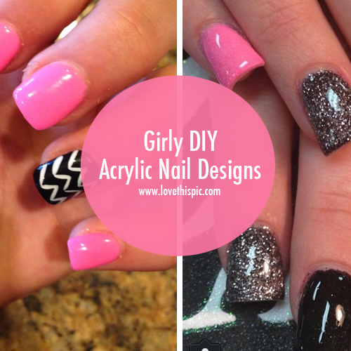 Girly diy acrylic nail designs 36 1407657894 0 6g solutioingenieria Image collections