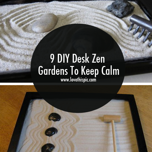 9 Diy Desk Zen Gardens To Keep Calm