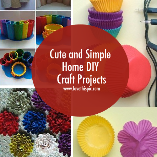 Cute And Simple Home Diy Craft Projects