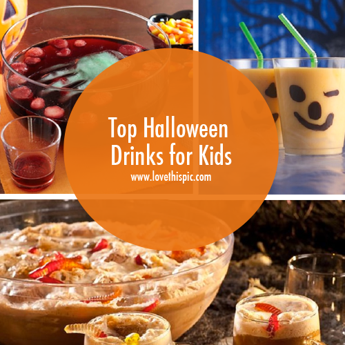 Sparkling Drinks Alcoholic: Top Halloween Drinks For Kids