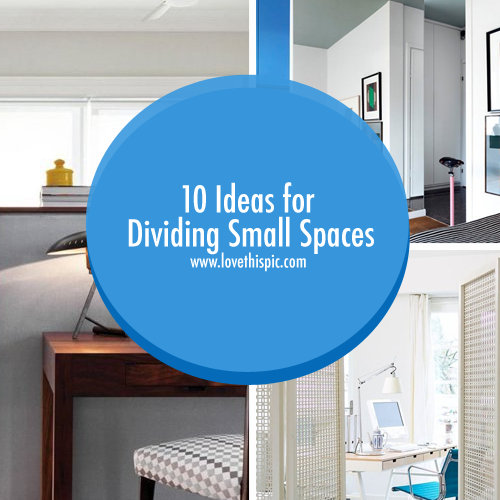Dividing a Small Space Video