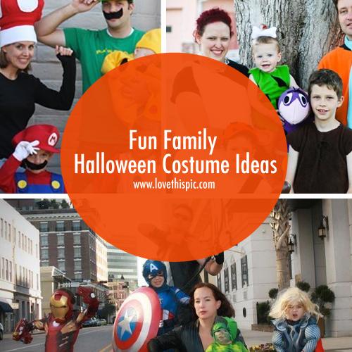 Halloween Ideas Blog: Fun Family Halloween Costume Ideas