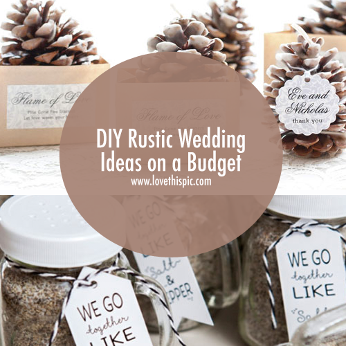 diy wedding ideas on a budget diy rustic wedding ideas on a budget 27772