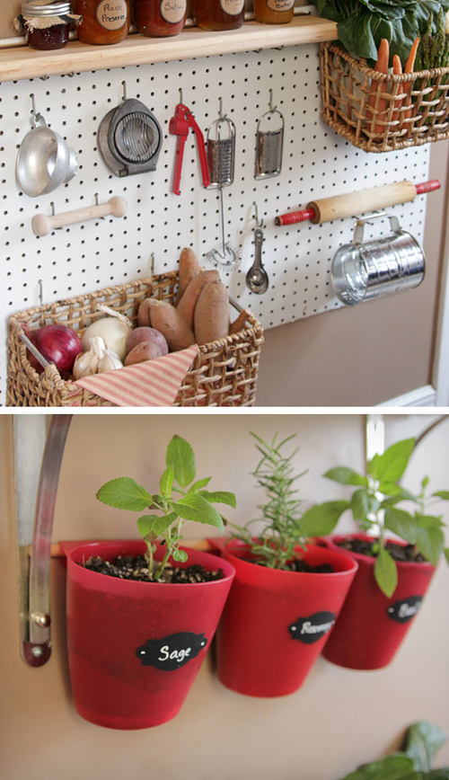 Kitchen Organization Ideas Small Spaces