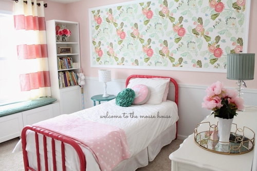 Pink Paint Colors For Girls Room Girly