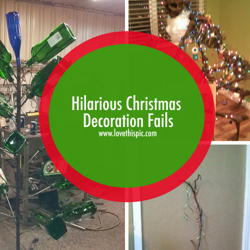 Hilarious Christmas Decoration Fails