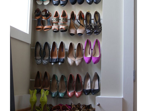 Womens Diy Shoe Storage And Organization Ideas