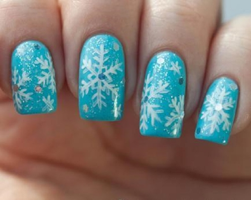 Decorative christmas nail art for Decorative nails