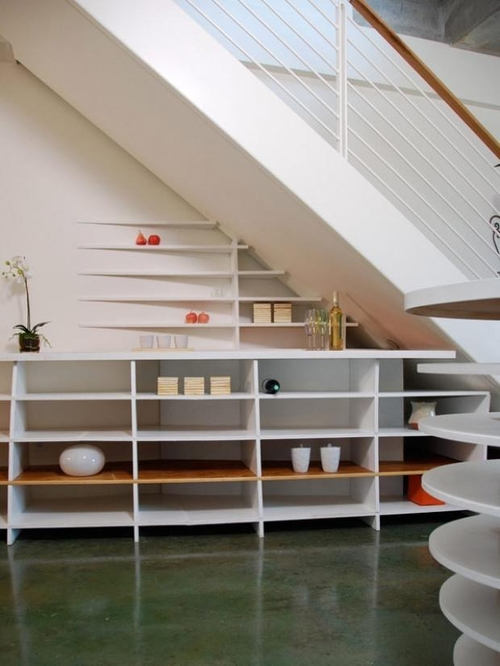 Diy Storage Spaces For Under The Stairs