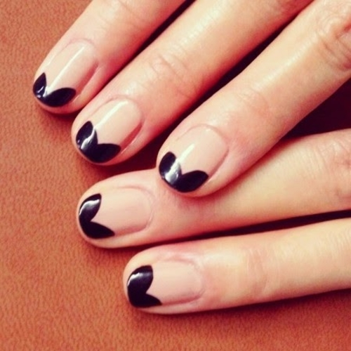 - Two Tone Nail Art Designs