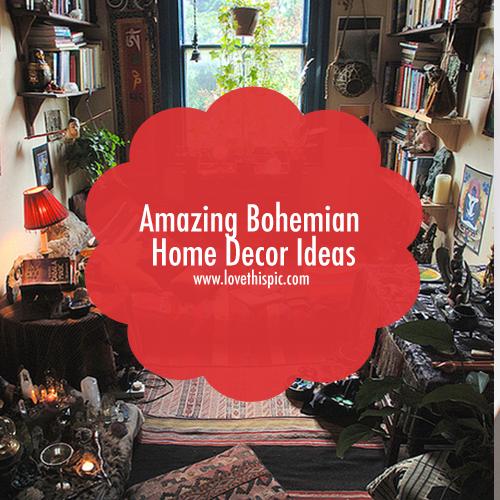 Amazing Bohemian Home Decor Ideas