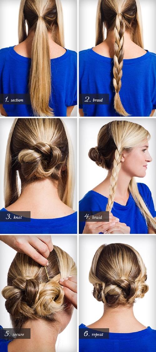 Простые причёски на волосы своими руками в домашних условиях