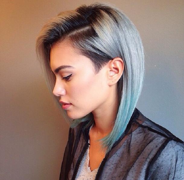 крутые прически на средние волосы