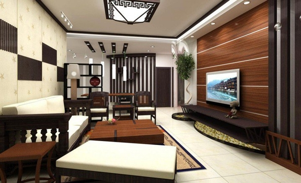 10 Wooden Themed Living Room Ideas