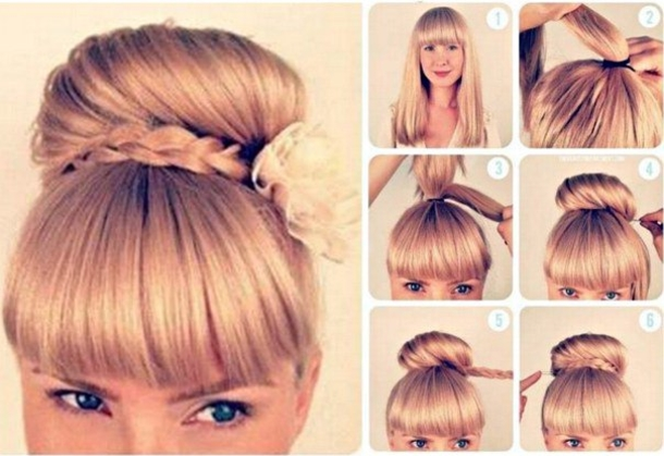 Enjoyable 10 Cute Valentines Hairstyles Step By Step Hairstyles For Women Draintrainus