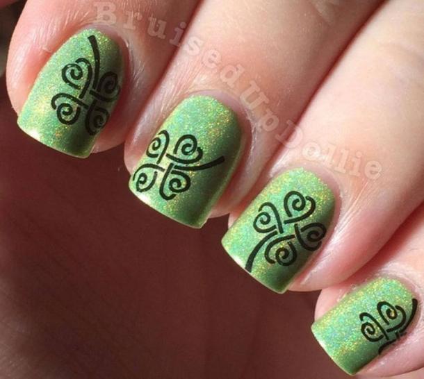 10 festive st patrick nail designs prinsesfo Images
