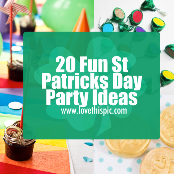 St patricks day adult party idea opinion you