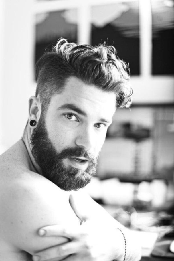 Fine 40 Manly Beard Looks For Men Short Hairstyles Gunalazisus