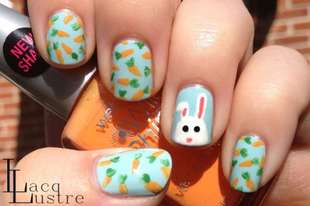 10 easter themed nail art prinsesfo Choice Image