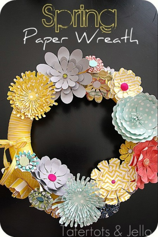 40 amazing wreaths for easter for Amazing wreaths