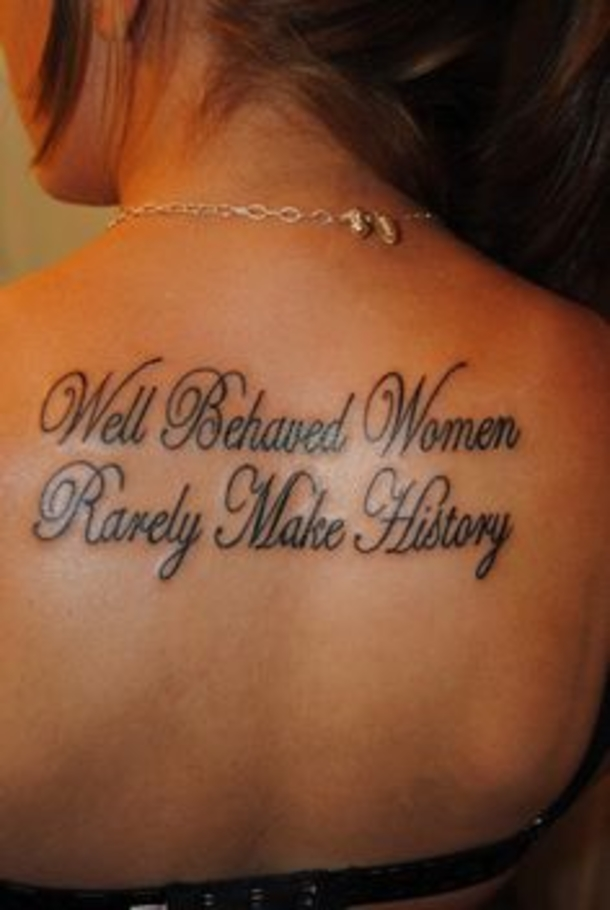 40 Inspirational Quote Tattoos For Girls