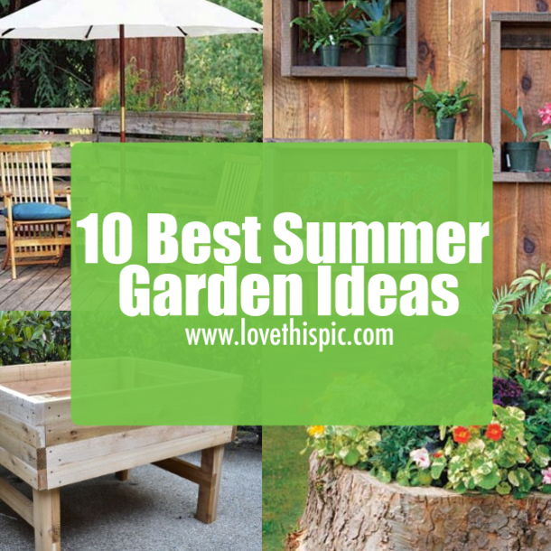 10 Best Summer Garden Ideas