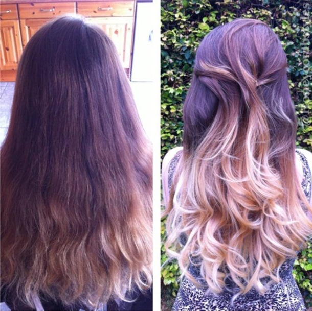 10 Long Hairstyles Using Ombre