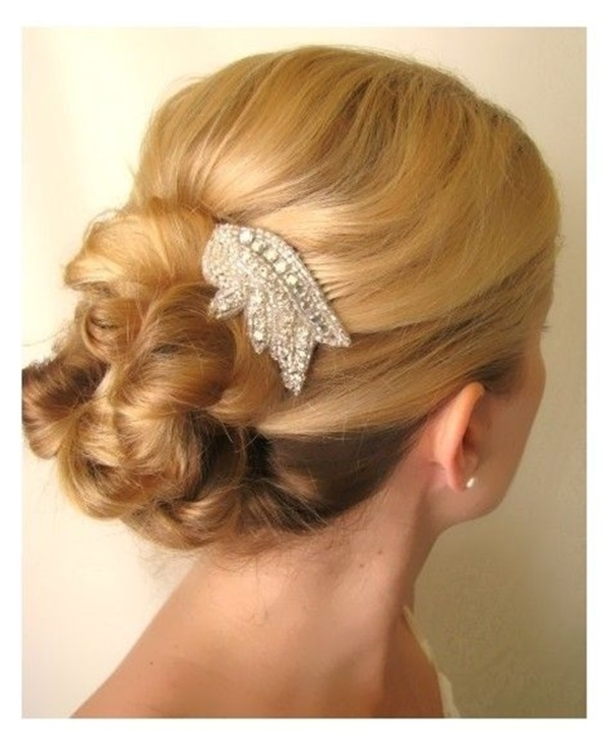 36 Messy Wedding Hair Updos: 10 Messy Updo Wedding Hairstyles For 2015