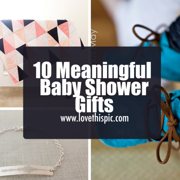10 meaningful baby shower gifts negle Gallery