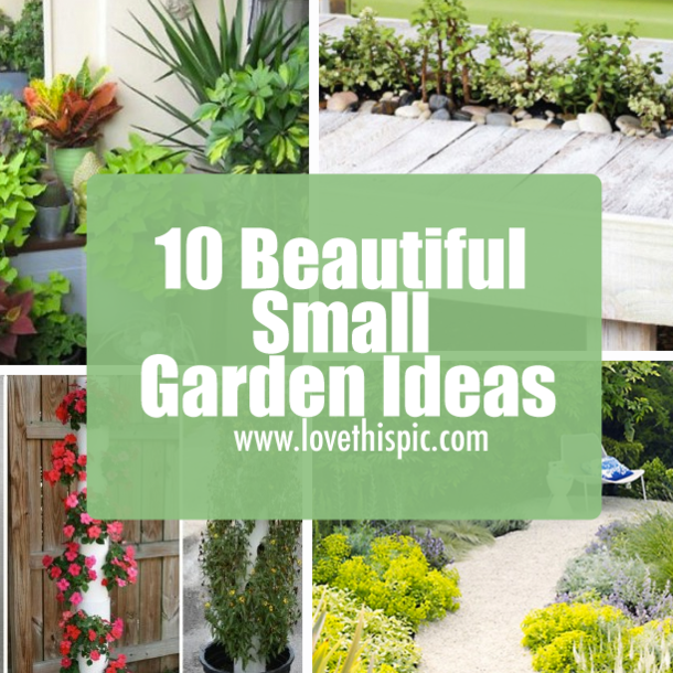 10 beautiful small garden ideas for Beautiful small garden ideas