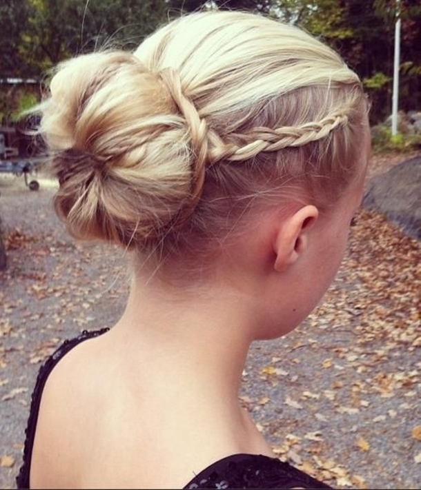 Wedding Hairstyles Bun With Braid: 10 Braided Buns For Weddings