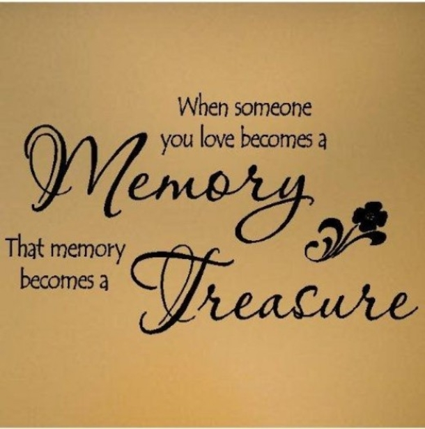 Pictures Make Memories Quotes: 10 In Memory Quotes And Sayings