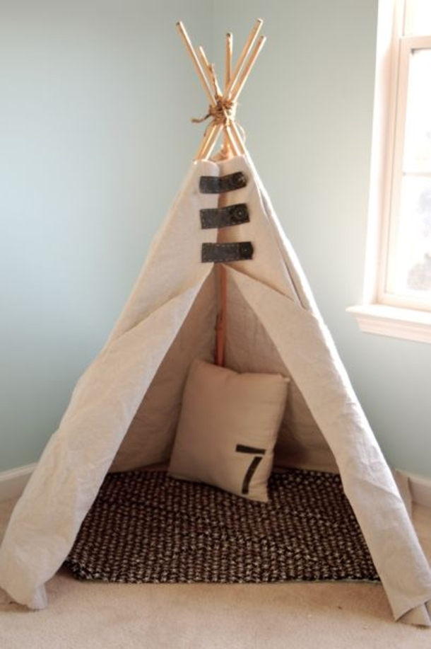 30 Awesome Teepee Diy Projects For Kids This Summer