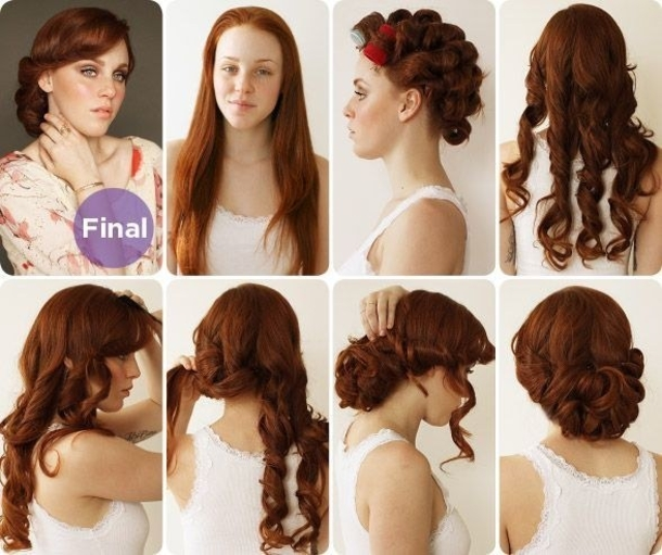 6 PIN UP looks for BEGINNERS  QUICK and EASY VINTAGE RETRO hairstyles  Fitfully Vintage