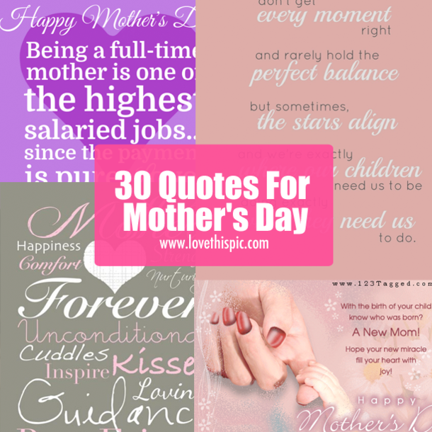 30 quotes for mother s day