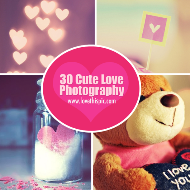 Cute love photography image